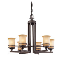 Troy Lighting Ranier 6 Light Chandelier in Natural Rust F1236NR