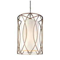 Troy Lighting Sausalito 8 Light Entry Chandelier in Silver Gold F1288SG
