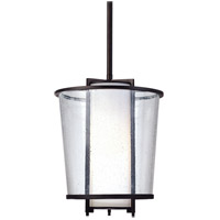 Troy Lighting Bennington 1 Light Pendant in Forged Bronze F1357FBZ