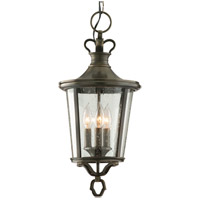Troy Lighting Britannia 3 Light Outdoor Hanging Lantern in English Bronze F1386EB