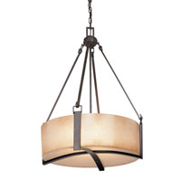 Troy Lighting Austin 4 Light Pendant in Antique Bronze F1743ABZ