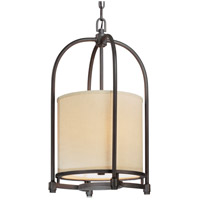 Redmond 3 Light 14 inch Federal Bronze Hanging Pendant Ceiling Light
