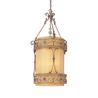 Troy Lighting Heirloom 4 Light Entry Chandelier in Sunset Bronze F1954SBZ