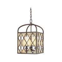 Troy Lighting Harlequin 3 Light Pendant in Harlequin Bronze F1983HB