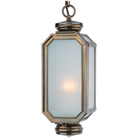 Troy Lighting Lexington 1 Light Outdoor Hanging Lantern in Heritage Bronze F2005HB