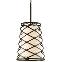 Troy Lighting Helix 4 Light Pendant Entry in Modern Bronze F2214MB