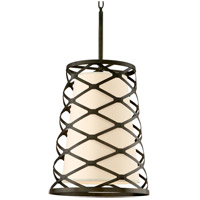 Troy Lighting Helix 6 Light Pendant Entry in Modern Bronze F2216MB