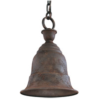 Troy Lighting F2367CR Liberty 1 Light 11 inch Cenntinial Rust Outdoor Hanging Lantern in Incandescent
