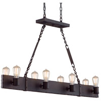 Troy Lighting Jackson 8 Light Pendant Island in Copper Bronze F2506CB