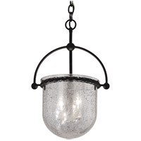 Mercury 3 Light 11 inch Old Iron Pendant Ceiling Light