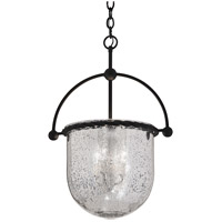 Mercury 3 Light 17 inch Old Iron Pendant Ceiling Light
