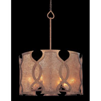 Troy Lighting Mandarin 8 Light Pendant Dining in Mandarin Copper F2595 photo thumbnail