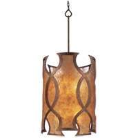 Troy Lighting F2596 Mandarin 8 Light 18 inch Mandarin Copper Pendant Entry Ceiling Light photo thumbnail