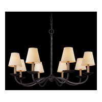 Alexander 8 Light 38 inch English Iron Chandelier Ceiling Light