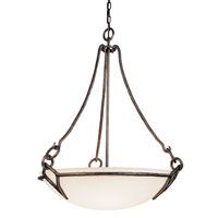 Troy Lighting Pompeii 4 Light Pendant in Pompeii Silver F2674