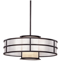 Discus 1 Light 24 inch Graphite Pendant Ceiling Light in Incandescent