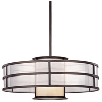Troy Lighting Discus 2 Light Pendant in Graphite F2737