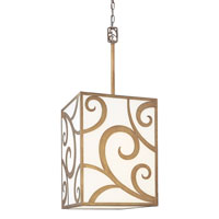 Troy Lighting Pierre 3 Light Pendant in Autumn Leaf F2755
