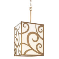 Troy Lighting Pierre 8 Light Pendant in Autumn Leaf F2756
