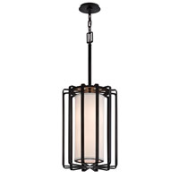 Troy Lighting Drum 2 Light Pendant in Graphite F2813GR-L