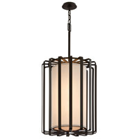 Troy Lighting Drum 2 Light Pendant in Bronze F2814BZ-L photo thumbnail