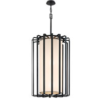 Troy Lighting Drum 4 Light Pendant in Graphite F2815GR-L
