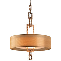 Link 4 Light 26 inch Bronze Leaf Pendant Ceiling Light in Incandescent