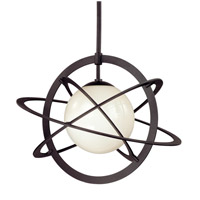 Troy Lighting Cosmos 1 Light Pendant in Federal Bronze F2933