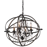 Byron 4 Light 20 inch Vintage Bronze Pendant Ceiling Light