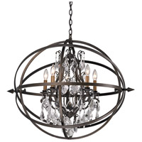 Troy Lighting F2996 Byron 5 Light 26 inch Vintage Bronze Pendant Ceiling Light