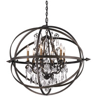 Byron 6 Light 32 inch Vintage Bronze Pendant Ceiling Light