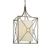 Troy Lighting Maidstone 6 Light Pendant in Bronze Leaf F3016BLF