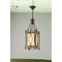 Troy Biltmore 3Lt Entry Chandelier Ceiling Mount Hanging In Biltmore Finish F3023BLT