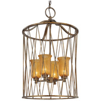 Troy Meritage 4Lt Entry Pendant Ceiling Mount Hanging In Molten Bronze F3044MB