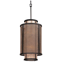 Troy Lighting Copper Mountain 8 Light Pendant Entry in Bronze F3103