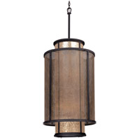 Troy Lighting Copper Mountain 8 Light Pendant Entry in Bronze F3104