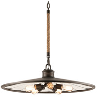 Troy Lighting Brooklyn 5 Light Pendant in Brooklyn Bronze F3147