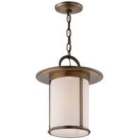 Troy Lighting Wright 1 Light Outdoor Hanger in Antique Brass F3247