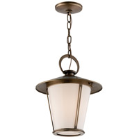 Troy Lighting Rennie 1 Light Outdoor Hanger in Antique Brass F3257