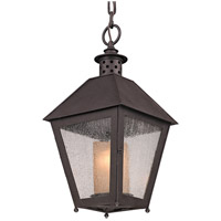 Sagamore 1 Light 10 inch Centennial Rust Outdoor Hanging Lantern in Incandescent