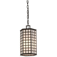 Troy Lighting Cameron 3 Light Outdoor Hanger in Bronze with Coastal Finish F3417-C