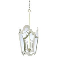 Troy Lighting Rhodes 4 Light Pendant in White F3484