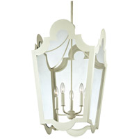 Troy Lighting Rhodes 5 Light Pendant in White F3485
