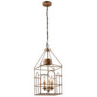 Troy Lighting Jasper 3 Light Pendant in Coastal Rust F3503