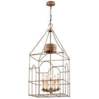 Troy Lighting Jasper 5 Light Pendant in Coastal Rust F3505