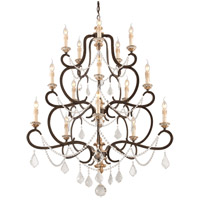 Troy Lighting F3517 Bordeaux 15 Light 43 inch Parisian Bronze Chandelier Ceiling Light