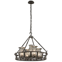 Troy Lighting Chianti 5 Light Chandelier in Chianti Bronze F3597