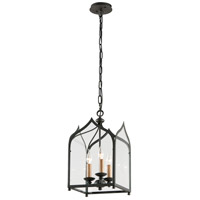 Troy Lighting York 3 Light Pendant in Federal Bronze F3603