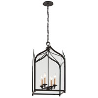 Troy Lighting York 4 Light Pendant in Federal Bronze F3604