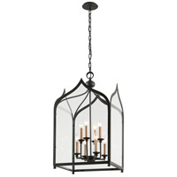 Troy Lighting York 8 Light Pendant in Federal Bronze F3608